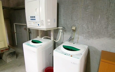 長居 洗濯機&乾燥機