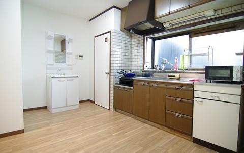 掲載用4階洗面・キッチン